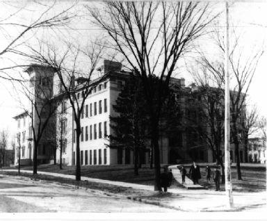 After being re-established as the Toledo Manual Training School in 1884, the school moved into an annex of Central High School a year later.
