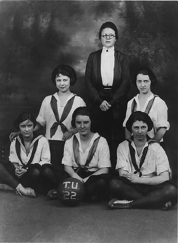 The first women's basketball team, 1922